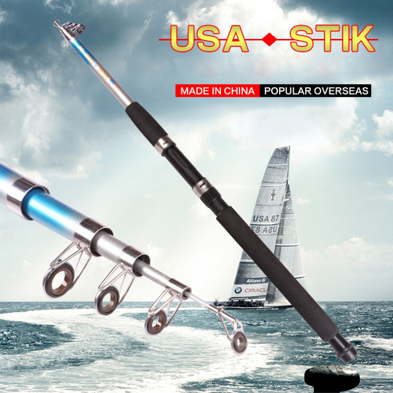 Brand Portable Telescopic Winter Fishing Rod Carbon Ultralight Spinning Carp Fly Fishing Rods For Fishing 2.7m 3.0m 3.6M YG3