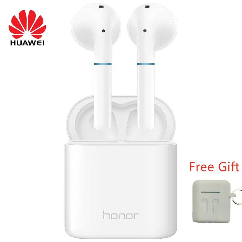 Original HUAWEI honor FlyPods Noise Cancelling Sem Fio Bluetooth fone de ouvido Fone de Ouvido À Prova D' Água suporta Handsfree Mic