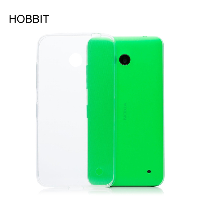 sale retailer d028c da1e1 US $4.25 |For Microsoft Nokia Lumia 635 Ultra thin High Definition Phone  Protective Back Cover Case Transparent Soft TPU for Nokia 630-in Fitted  Cases ...