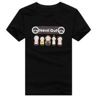 Anime T Shirts Fashion Brand Culture Kawaii Printed Shirts Design Tops Tees Cotton T Shirts Men