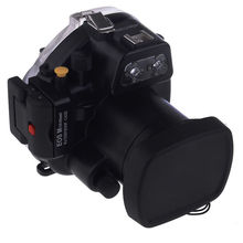 For Canon EOS M Meikon 40M Waterproof Underwater Digital camera Housing Diving Case for Canon EOS-M 18-55 Lens