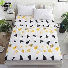 Медленный лесной матрац татами Коврик противоскользящий утолщенный матрас мебель для спальни студенческий коврик для кровати 3 см Толщина