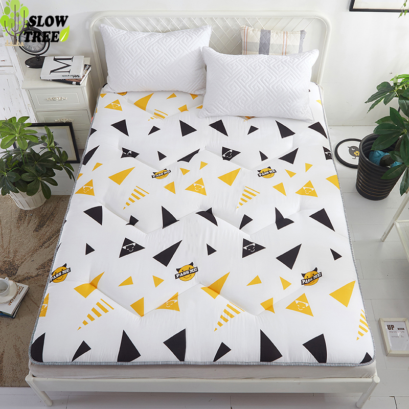 Slow Forest Queen Mattress Tatami Mat Anti-skid Thickening Mattress Bedroom Furniture Student Dormitory Bed Mat 3cm Thickness