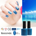 IBCC CNDC 7.3ml 79 Colors Nail Gel Easy Soak Off Polish Fashion UV LED Beauty Choices Colored Nail Varnish Bluesky Color