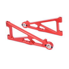 2PCS Alloy Front Lower Suspension Arm For Rc Hobby Model Car 1/10 Himoto Big Foot Monster Truck E10Mtl E10Mt E10Bp Hopup Parts
