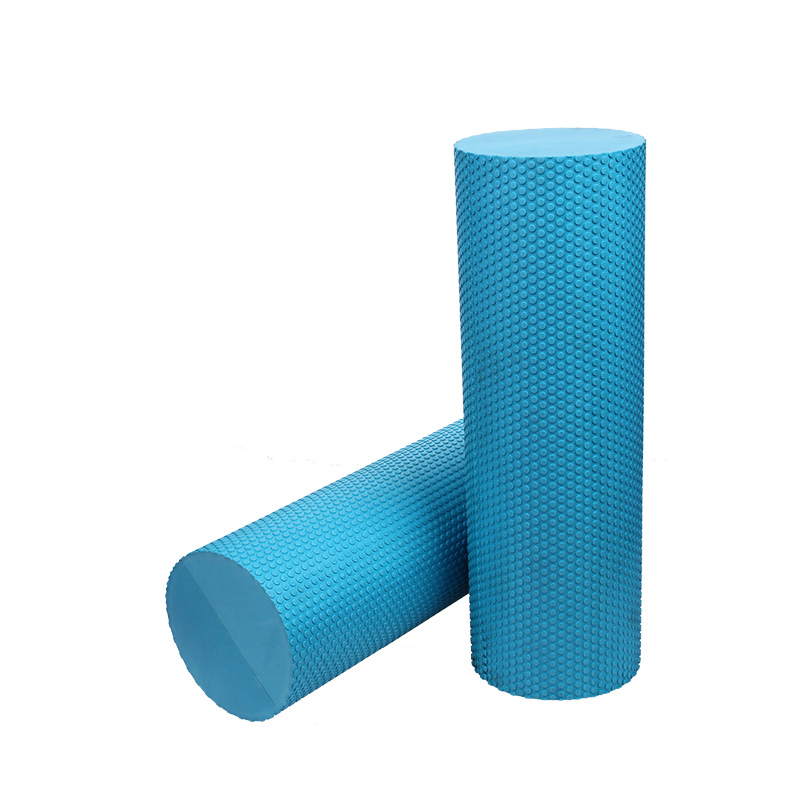EVA Foam Roller Multiple Size EVA Solid Core Round Point Yoga Foam Roller Fitness Gym Equipment Exercise Pilates Foam Roller 30cm 15cm electric vibration eva foam roller floating point fitness massage roller 3 speed adjustable for physical therapy