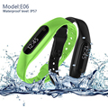 E06 Smart Wristband IP57 Waterproof Bluetooth Smart Bracelet Fitness tracker Sleep Monitor for iphone xiaomi phones pk mi band 2