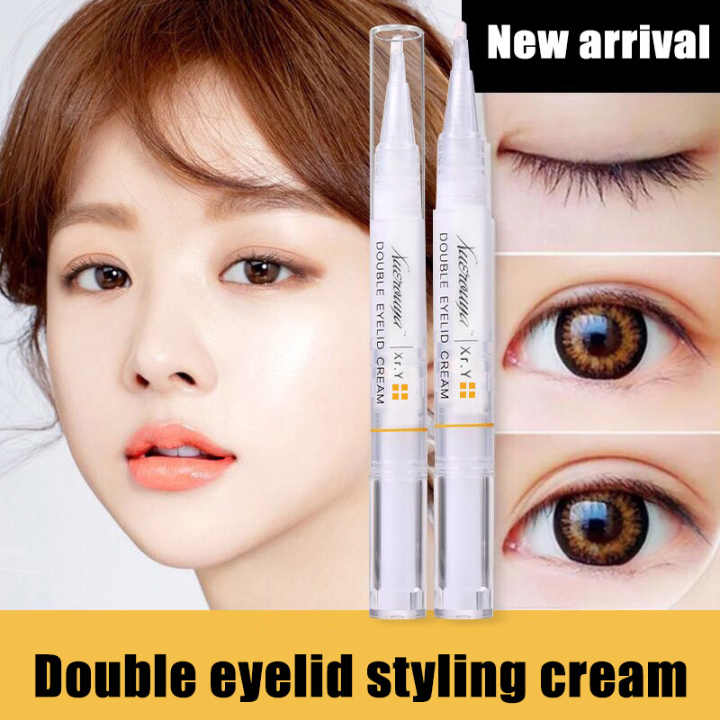 New Double Eyelids Styling Shaping Cream Tools Professional Invisible Long Lasting Lift Eyes Women Practical Eyelid Styling Tool