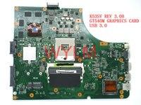 Free Shipping Original K53S X53S A53S K53SV REV 3 00 Laptop Motherboard MAIN BOARD USB 3