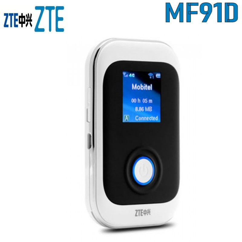 Free Shipping New Original Unlock LTE FDD 100Mbps ZTE MF91D 4G WiFi Router And 4G Mobile HotspotFree Shipping New Original Unlock LTE FDD 100Mbps ZTE MF91D 4G WiFi Router And 4G Mobile Hotspot