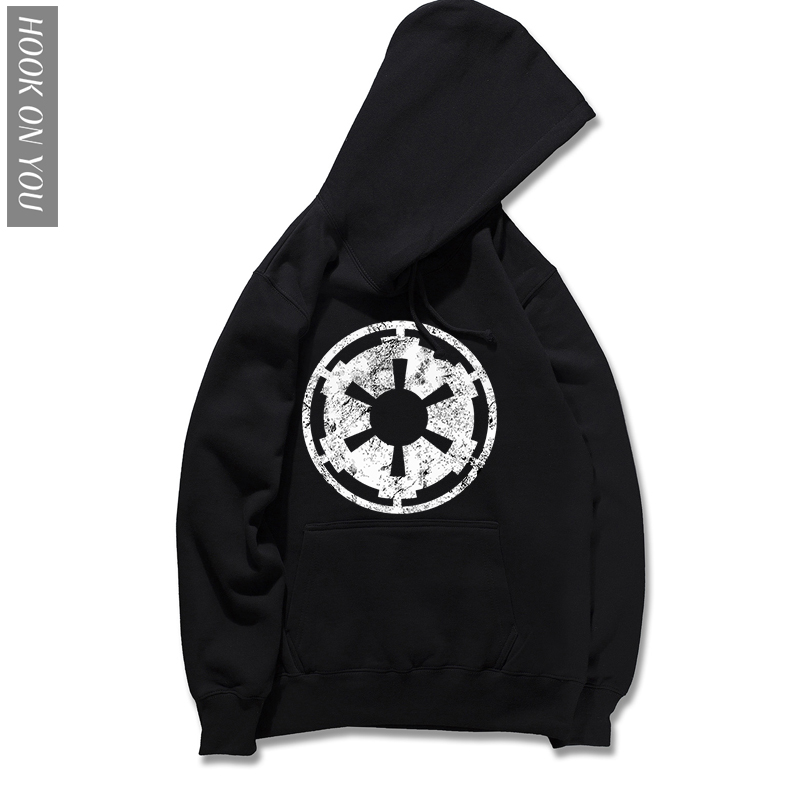 New brand Autumn Hoody Long Sleeve cotton Casual Star Wars Hoodie The Galactic Empire Printed Sweatshirts Trendy hooded