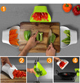 Cooking gadget Chopping Blocks Partner Vegies basin Colander Food classification Basket Kitchen Drain container