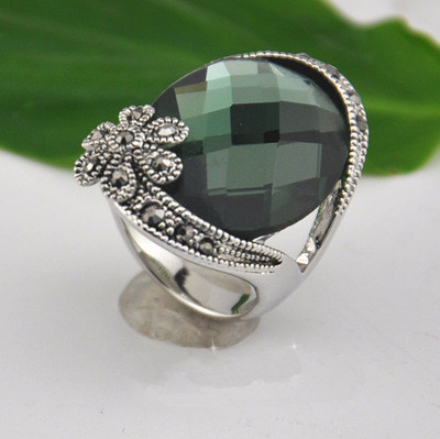 alexandrite cut big round silverbestbuy rings stone ring