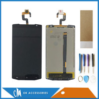 White Black Color For Oukitel K10000 LCD Display Touch Screen Digitizer Assembly With Tools Tape 1PC