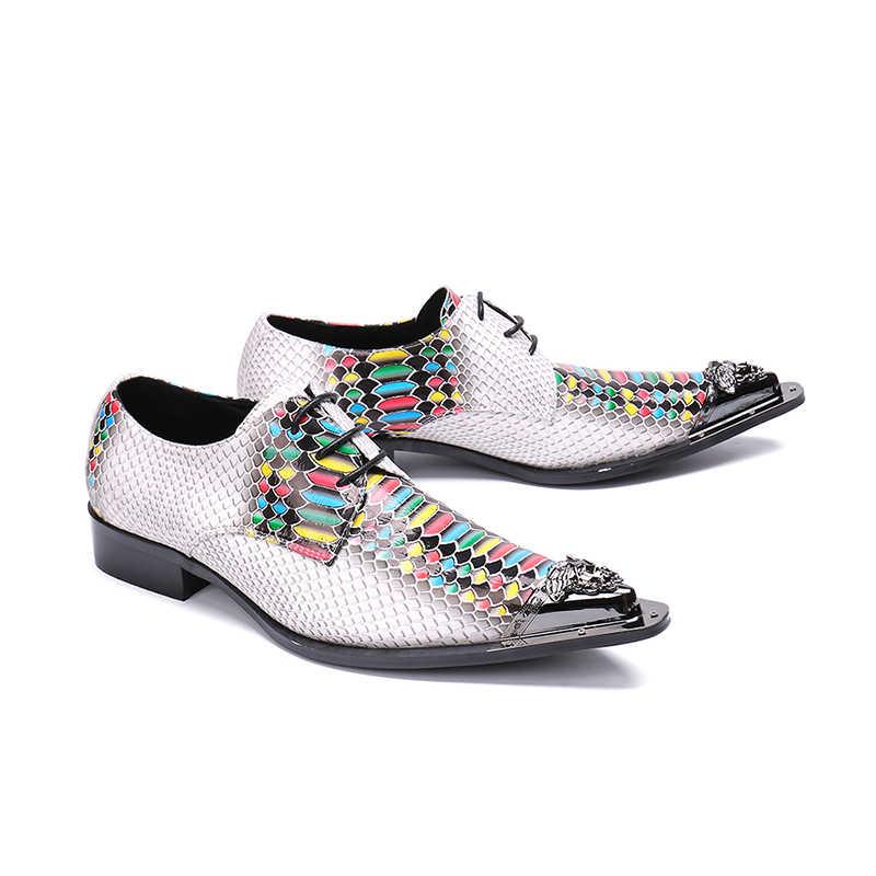 الرجال وأشار اصبع القدم اللباس أحذية الأسماك مقياس نمط اللون نهر الدانتيل متابعة أكسفورد للرجال حزب أحذية الزفاف الرجال حجم 38-46