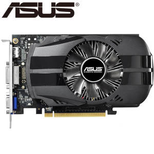 Video-Card Used GDDR5 Ti 750ti 2gb Nvidia Geforce 1050 Gtx 750 ASUS 128bit VGA 760 650
