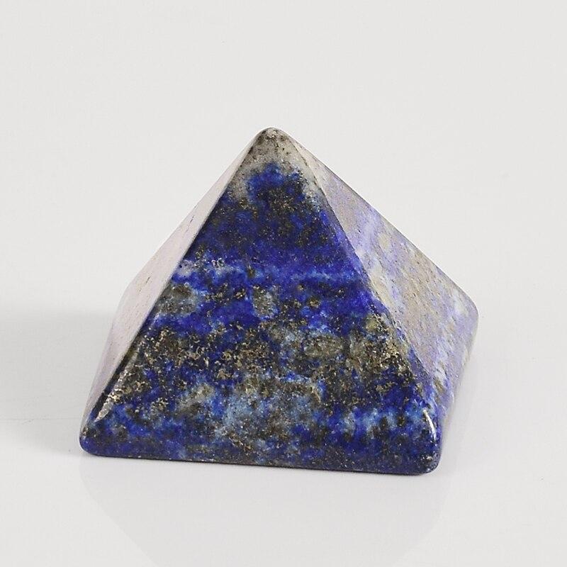 1 Pcs Pyramid Fashion Energy Healing Lapis Lazuli Egypt
