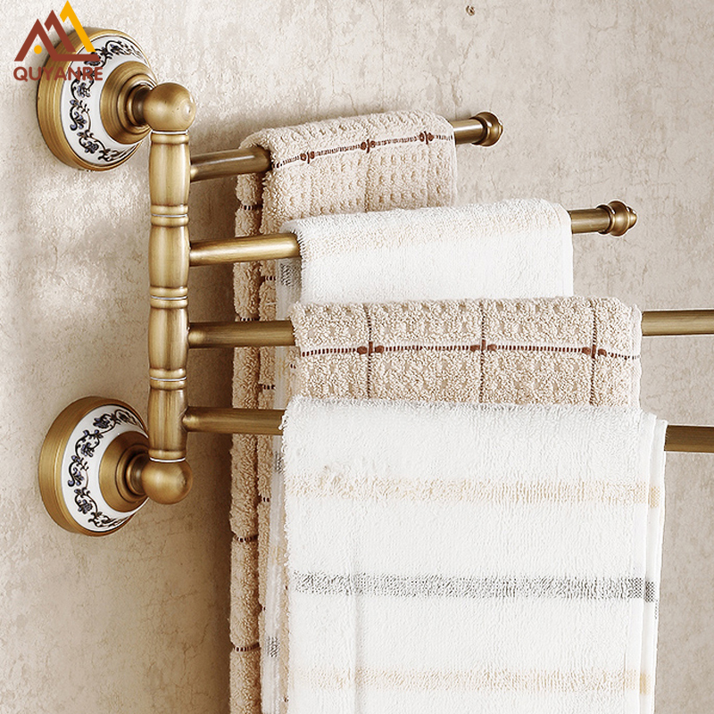 Free Shipping Antique Brass Wall Mounted Bathroom Towel Bars With Blue And White Porcelain migura чехол книжка для планшета page 1 page 4 page 1 page 5 page 4 page 1