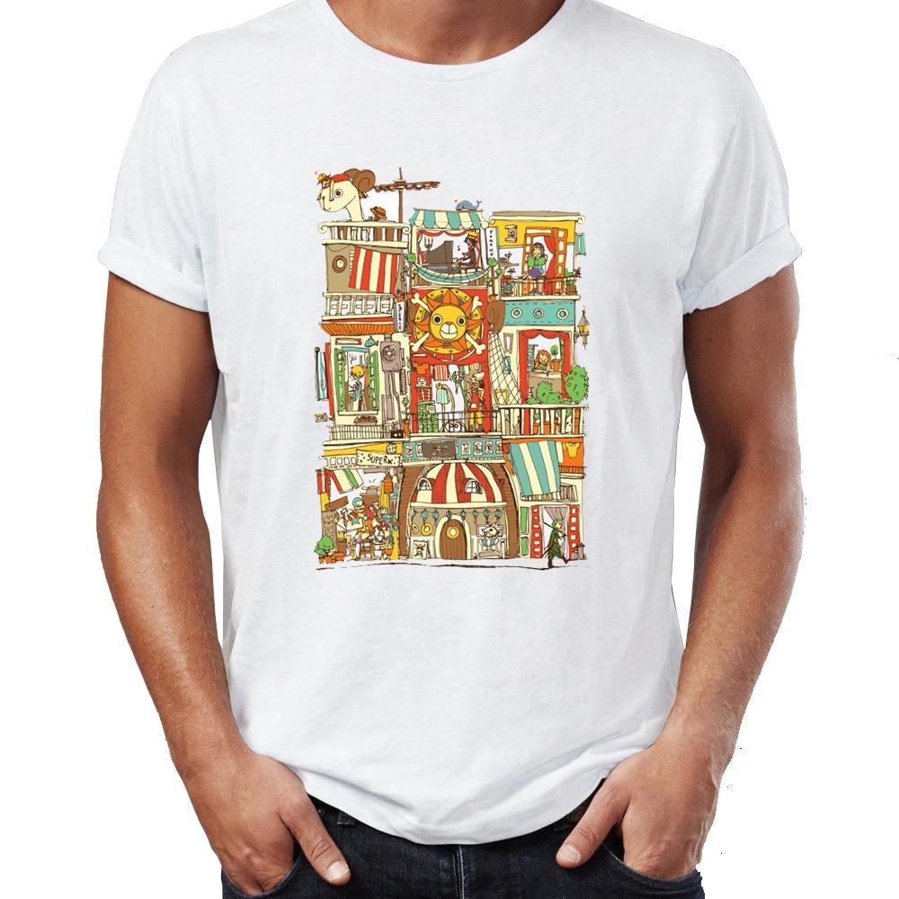 Men's T Shirt Mugiwara House Nami One Piece Anime Badass Tee