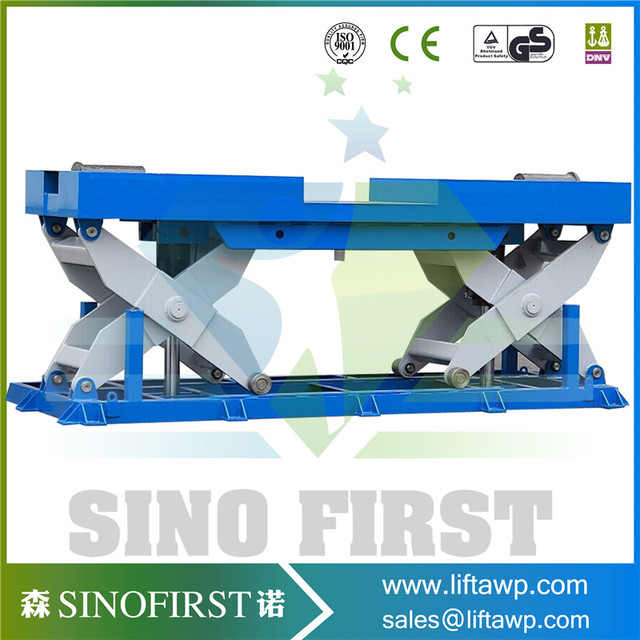 CE Certified Stationary Upright Scissor Lift Warehouse Cargo Lift-in ...