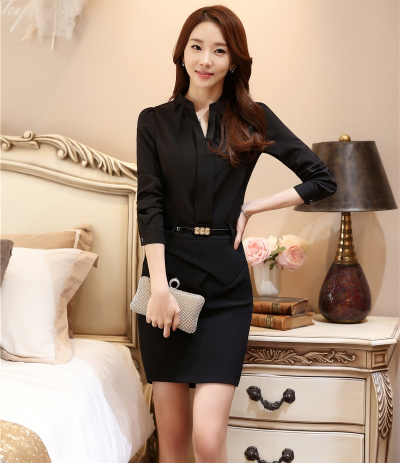 Formal OL Styles Spring Autumn Professional Office Suits Tops and ...