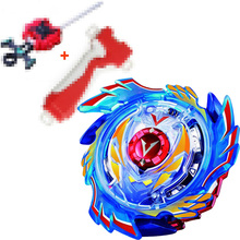 God Valkyrie / Genesis Valtryek Spinning Top Burst STARTER w/ Launcher B-73 With Grip (RED) + L-R Kids Gifts