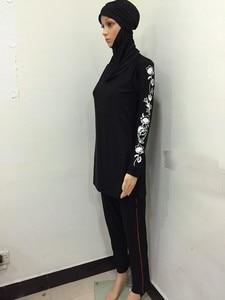 Image 4 - 2017 New muslim swimwear islamic swimsuit modest swimwear swimsuit for women