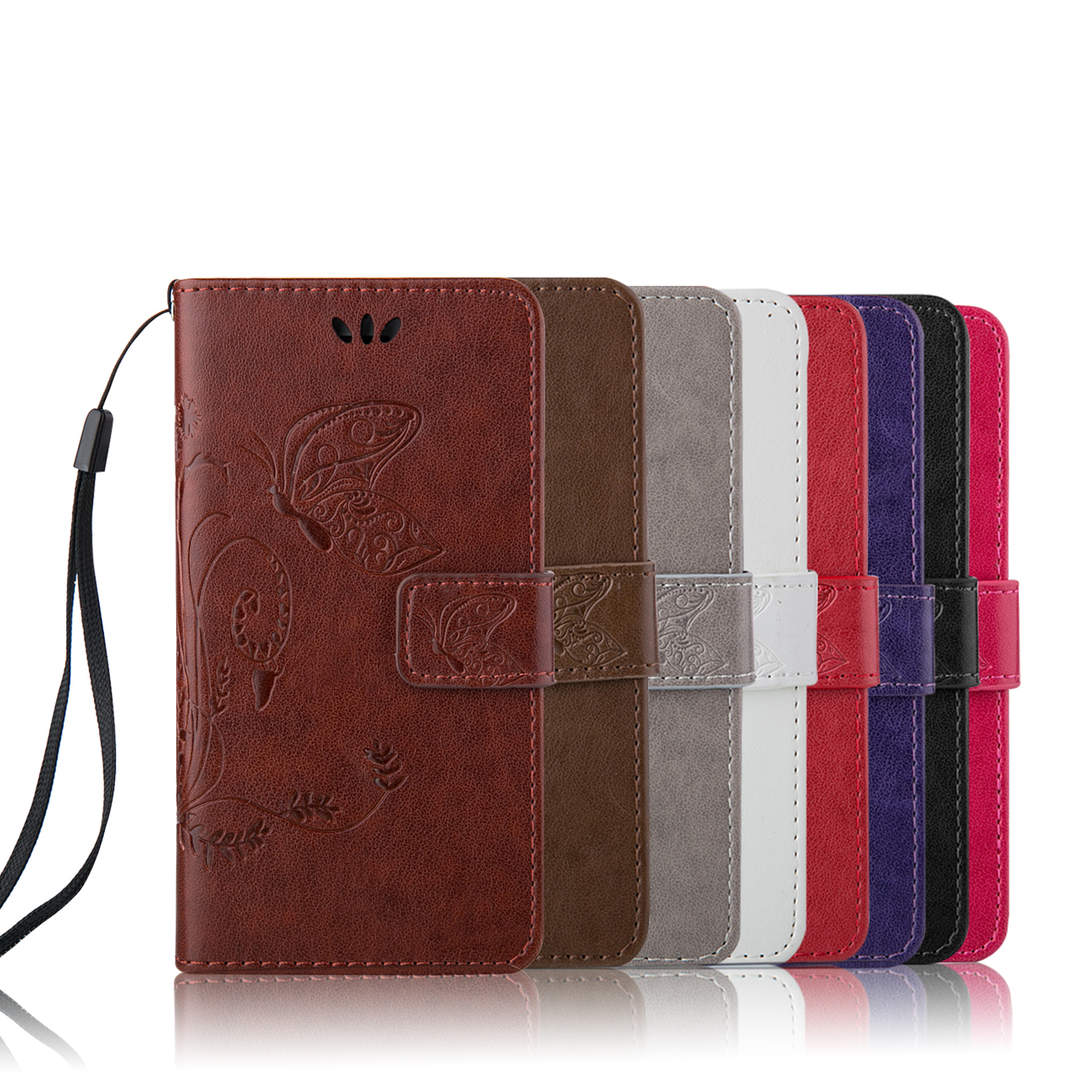 Fashion Book Cover Zip : Wallet cases luxury book style pu leather flip case cover