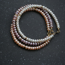 Cute White Real Natural Small Pearl Bracelet,bridal Freshwater Bracelet Girl Birthday Gift