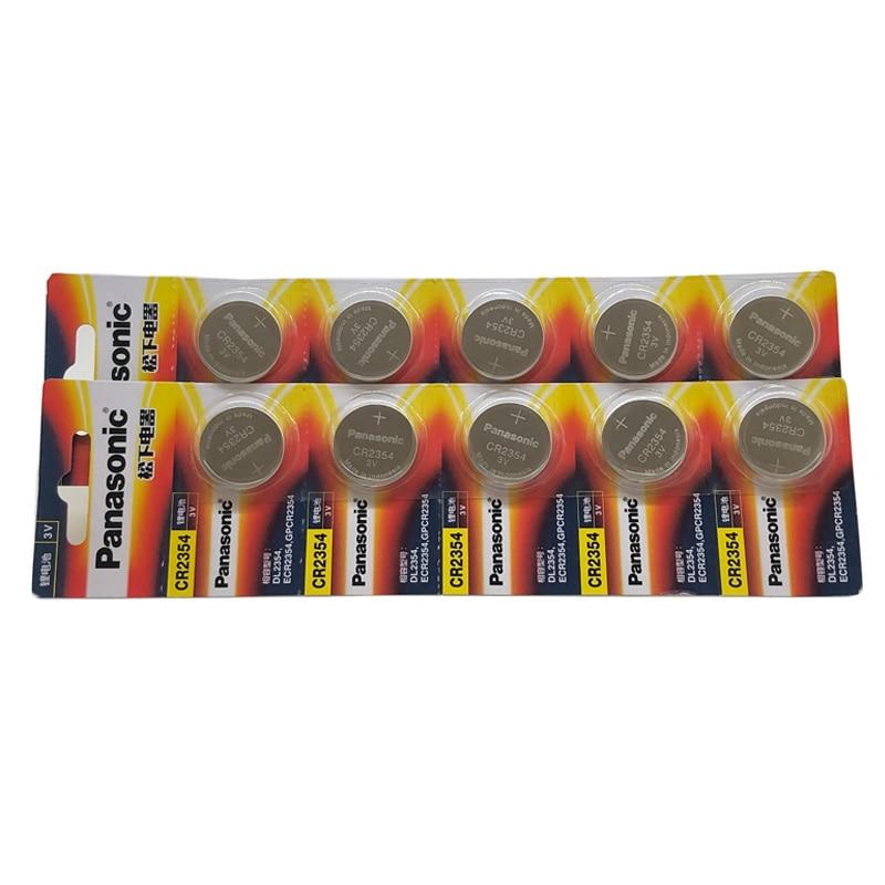 40 pcs/lot nouvelle batterie d'origine pour Panasonic CR2354 3V pile bouton Lithium pile bouton DL2354 ECR2354 GPCR2354 CR 2354