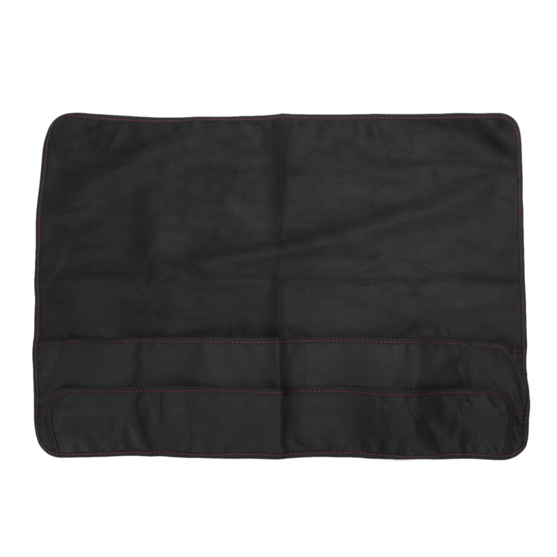 Black Computer Monitor Dust Cover Protector With Inner Soft Lining For Apple Imac Lcd Screen