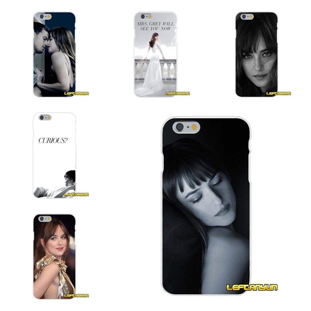 For HTC One M7 M8 A9 M9 E9 Plus Desire 630 530 626 628 816 820 Fifty Shades of Grey Dakota Johnson Soft Phone Cover Silicone