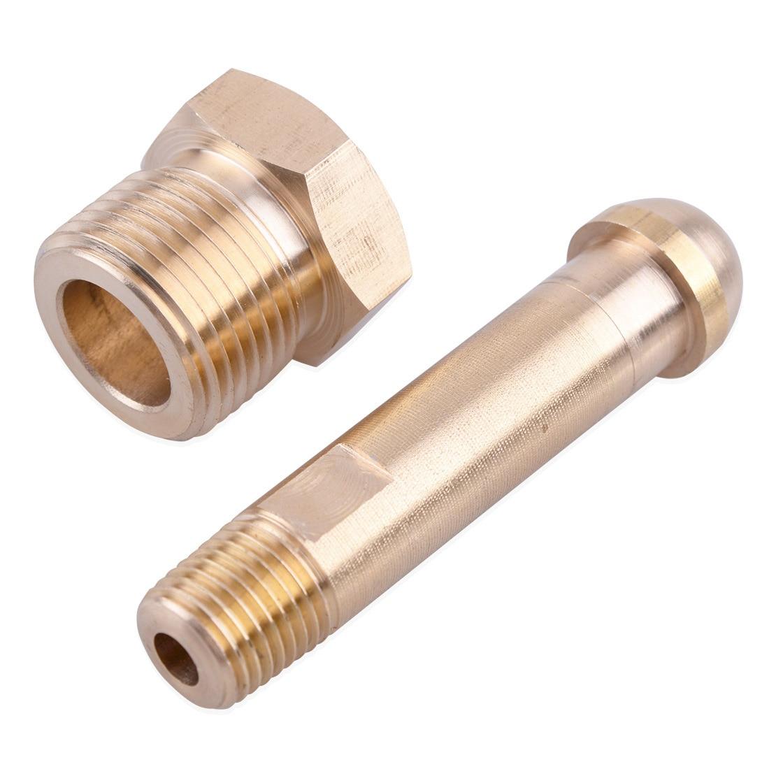 LETAOSK New CGA 580 Brass Nut 3 Inch Nipple Regulator Helium Argon Nitrogen Inlet Bottle Fittings|Tool Parts|   - AliExpress