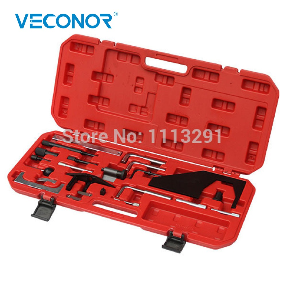 Engine Timing Tool Kit Adjustment Camshaft Alignment Injection Pump Shaft Locking Tension Timing Belt Tool Set For Ford Mazda цена