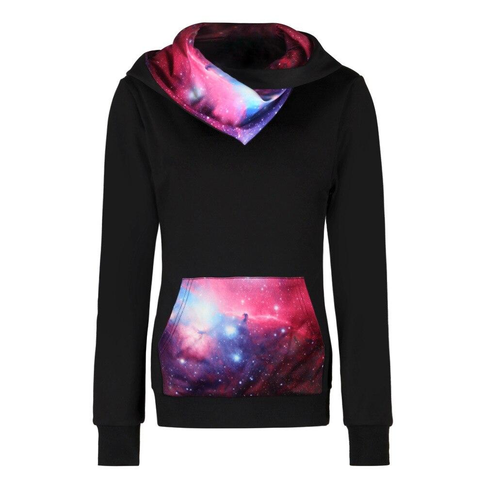 Plus Size Pullovers Streetwear Hoodies Men Women 3D Galaxy Space Print Hooded Sweatshirt Long Sleeve Outwear Clothing S-XXXL