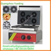 Commercial plum blossom shape donut machine/mini donut maker for sale