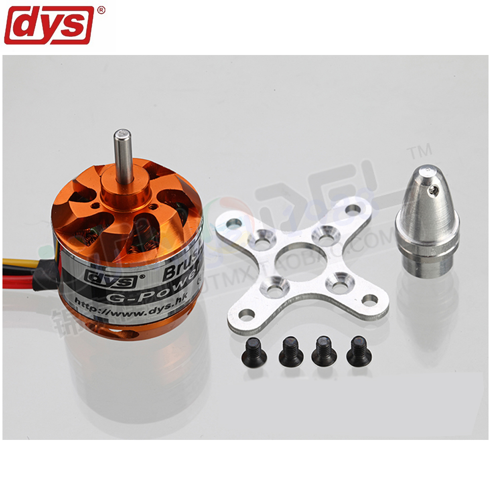 1pcs DYS D2212 D2826 Brushless Motor 930KV 1000KV 1400KV 2200KV For RC Aircraft Plane Multi-copter Brushless Outrunner Motor 4pcs 6215 170kv brushless outrunner motor with hv 80a esc 2055 propeller for rc aircraft plane multi copter