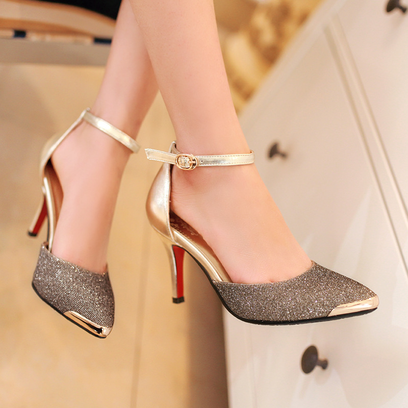 Aliexpress.com : Buy 2014 STAR LOVE Pointed Toe High Heels Sexy&amp