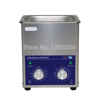 1PC 1.3L AC110/220V Stainless Steel Digital PCB Mechanical Jewelry Ultrasonic Cleaner With Basket