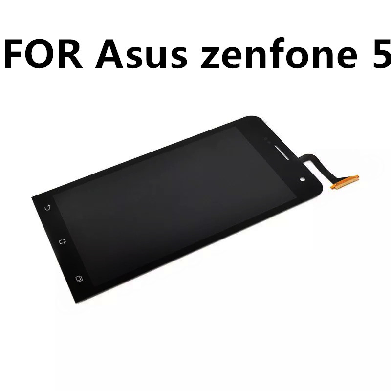 FOR Asus zenfone 5 T00J/F/P A500KL CG mobile phone LCD touch screen assembly inside and outside