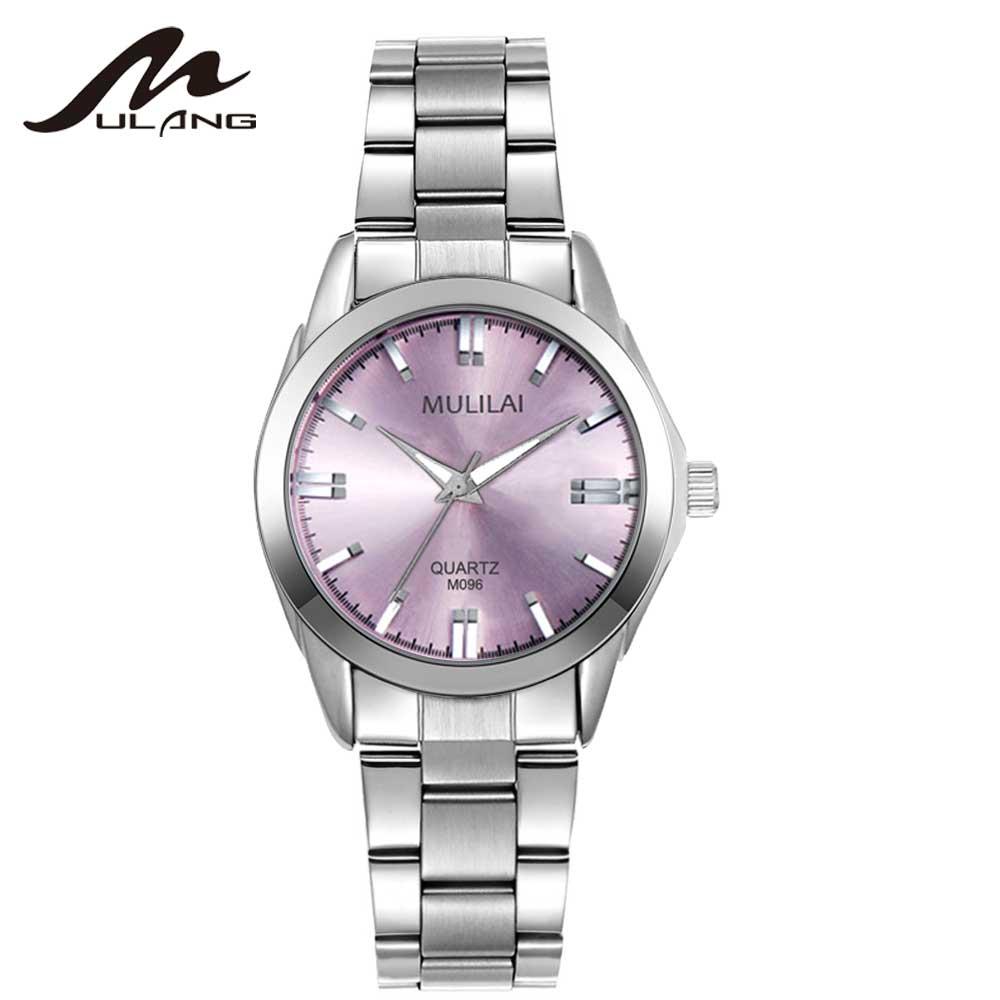 Mujeres de negocios MULILAI Marca relogio Luxury Women's Casual - Relojes para mujeres
