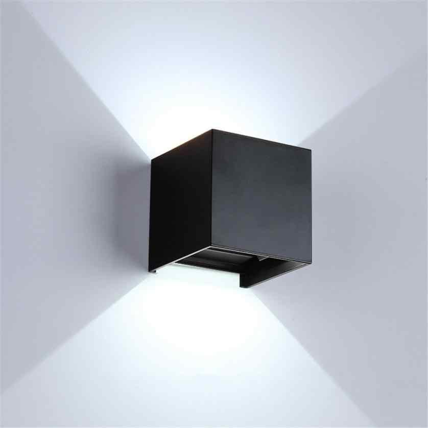 Светодиодный современная настенная лампа 3 Вт * 2 светодиодный настенный светильник с крышкой вверх/вниз свет лампы Главная Водонепроницаемый IP65 настенный светильник DropShippig 2018a5