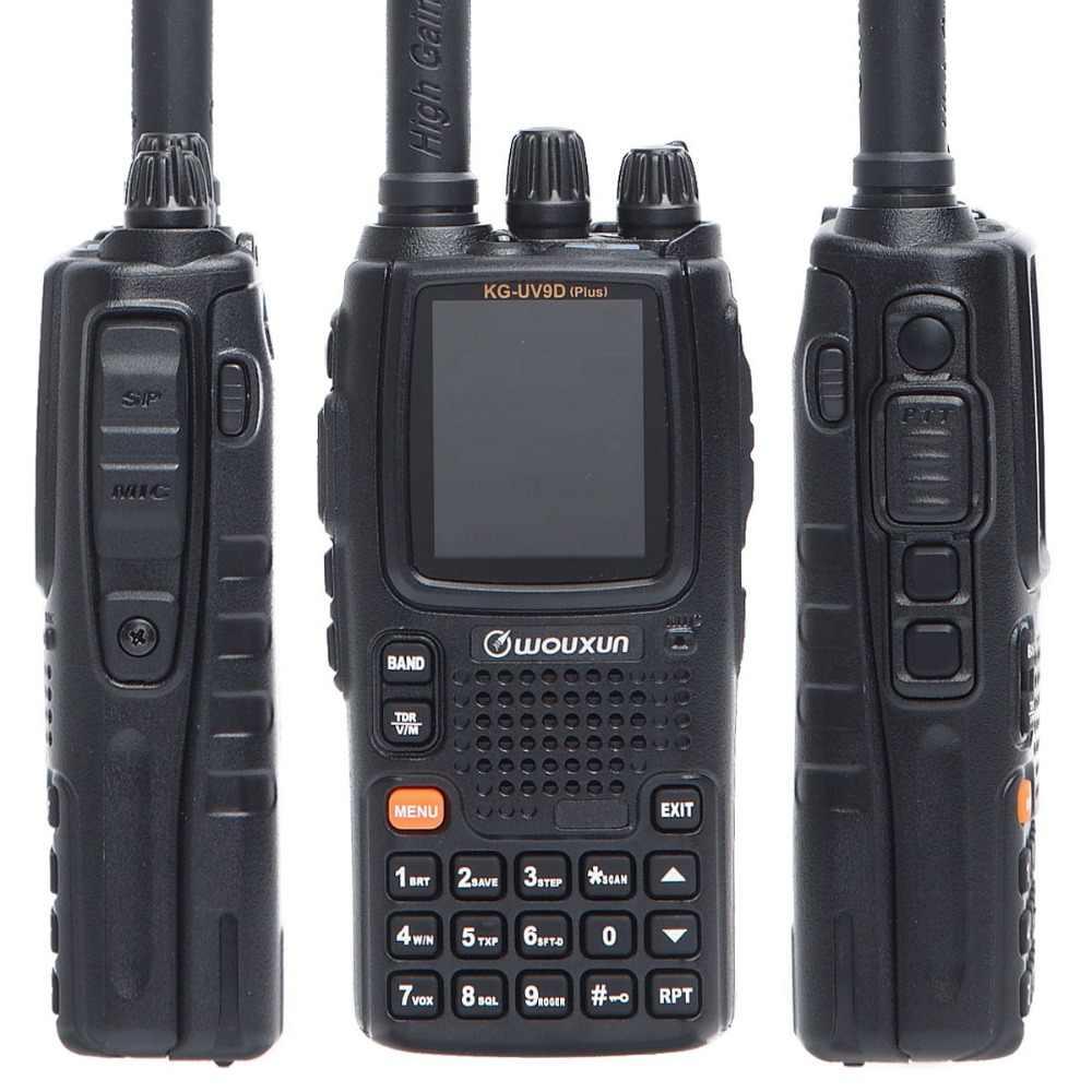 KG-UV9D Wouxun Plus réception à sept bandes et double talkie-walkie à double bande