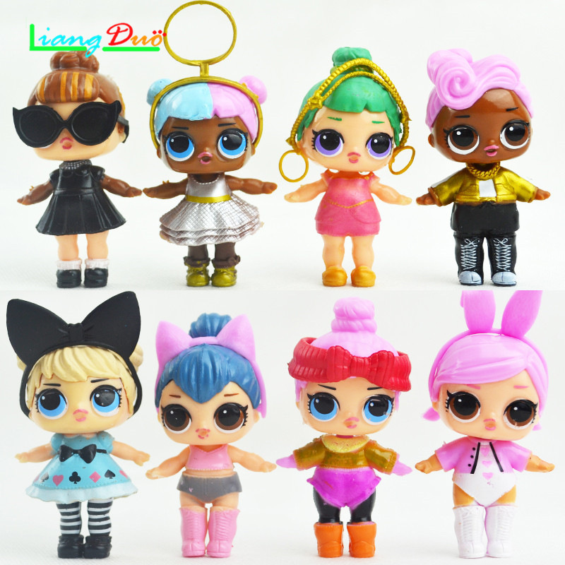 lol boneca menina boneca mudan a m o lol bonecas figura de a o brinquedos ca oa o presente. Black Bedroom Furniture Sets. Home Design Ideas