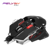 FELYBY USB  wired mouse gaming  PC Computer   gaming mouse professional Programmable gaming mouse lol dota 2 gaming mouse