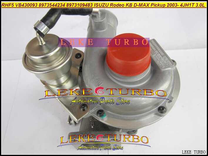 Turbo RHF5 8973659480 8973659481 24123A 8973544234 VB430093 Turbocharger For ISUZU For Holden Rodeo D-Max 2003- 4JH1T 3.0L 130HP free ship rhf5 8973544234 8973109483 turbocharger cartridge turbo chra core for isuzu rodeo kb d max pickup 4jh1t 4jh1t c 3 0l