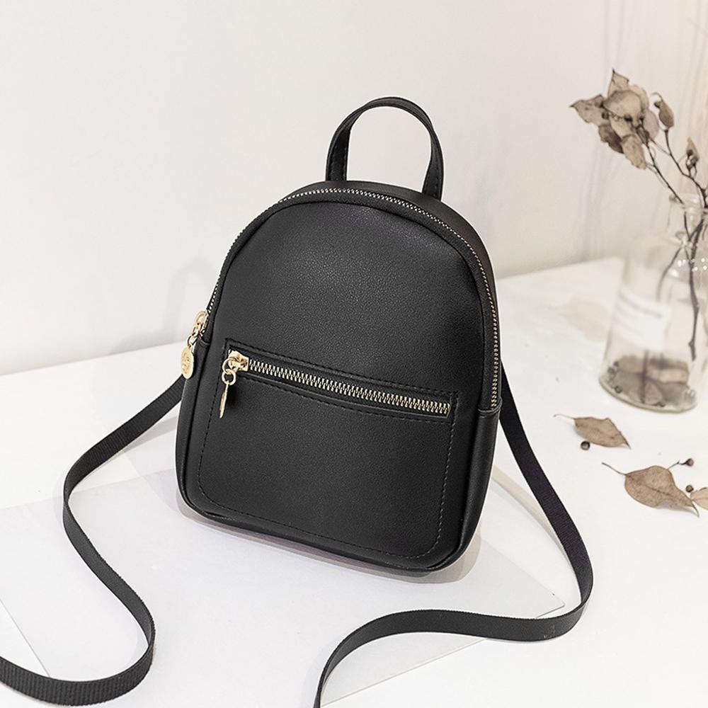 Women's Mini Backpack Fashion Rucksack Women Shoulders Bag Small Backpack Purse Mobile Phone Bag Kawaii School Backpacks #20