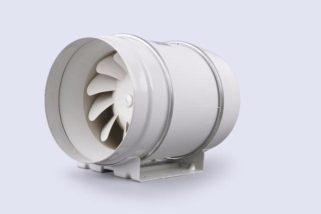 Hon y Guan E-EMS Envío libre 6 inch HF-200P Sistema de Ventilación Ventilador de Conducto En Línea De Flujo Mixto 110/220 V conducto de Ventilación Del baño extractor de aire