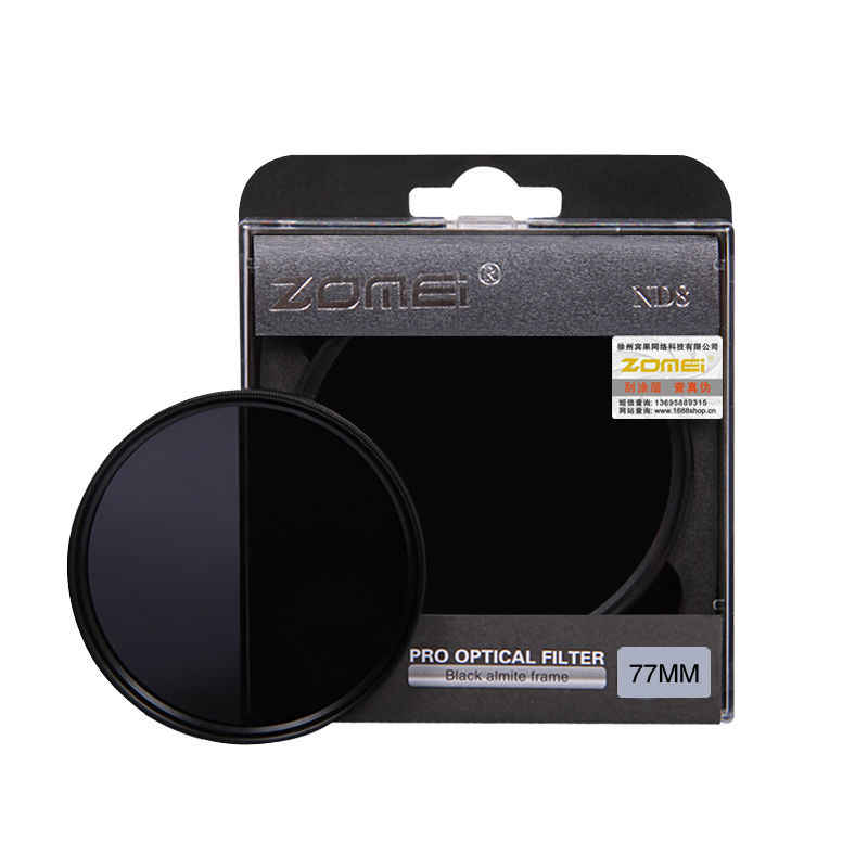 Zomei 中立密度 nd フィルターセットキット 52 ミリメートル 58 ミリメートル 62 ミリメートル 67 ミリメートル 77 ミリメートル 82 ミリメートル ND2 ND4 ND8 一眼レフカメラ用レンズ