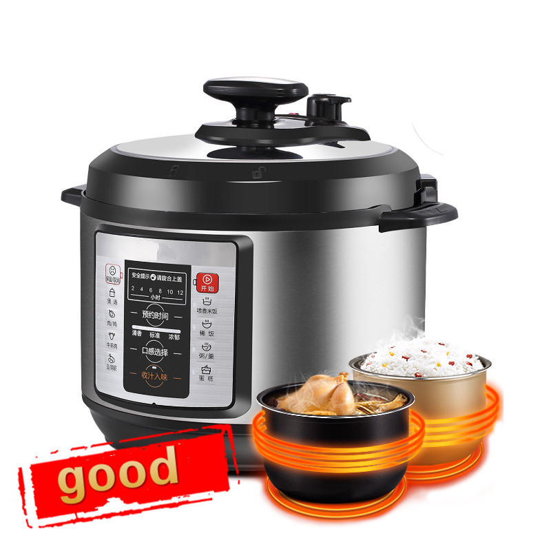 Electric Pressure Cookers pressure cooker 5L intelligent household electric rice cooker. w13pcs503e electric pressure cooker double gall intelligent electric pressure cooker rice cooker 5l genuine home